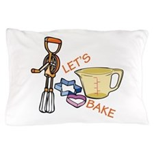 Lets Bake Pillow Case