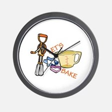 Lets Bake Wall Clock