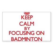 Badminton Decal