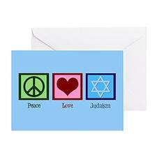 Blue Jewish Greeting Card