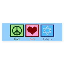Blue Jewish Bumper Sticker