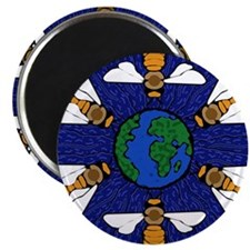 "Cool Animal 2.25"" Magnet (10 pack)"