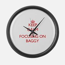 Baggy Large Wall Clock