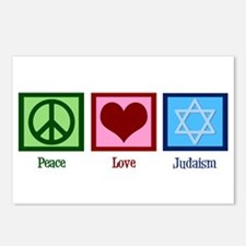 Peace Love Judaism Postcards (Package of 8)