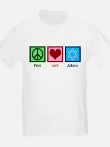 Peace Love Judaism T-Shirt