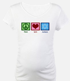 Peace Love Judaism Shirt