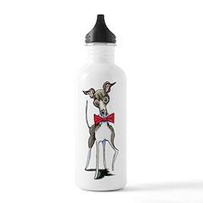 Italian Greyhound Antonio Water Bottle