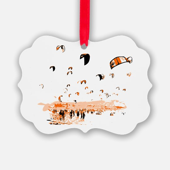 Funny Kiteboard Ornament