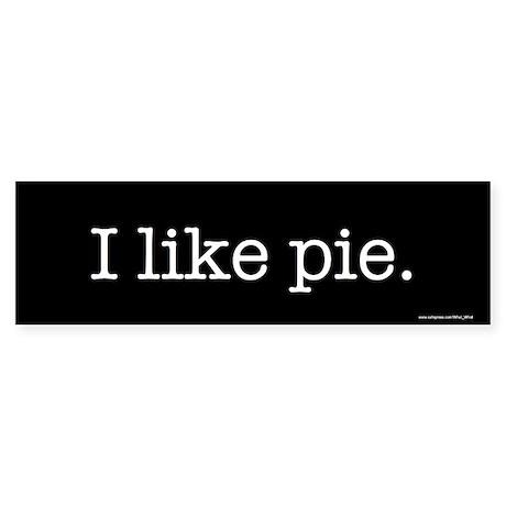 Pie Bumper