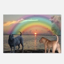Cute Rainbow bridge Postcards (Package of 8)