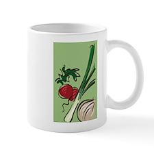 Radish and Onions Mug
