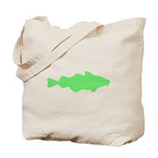Green Carp Tote Bag