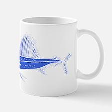 Blue Sail Fish Mugs