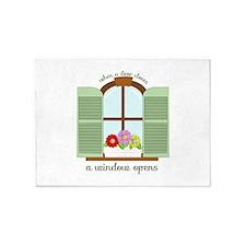 A Window Opens 5'x7'Area Rug