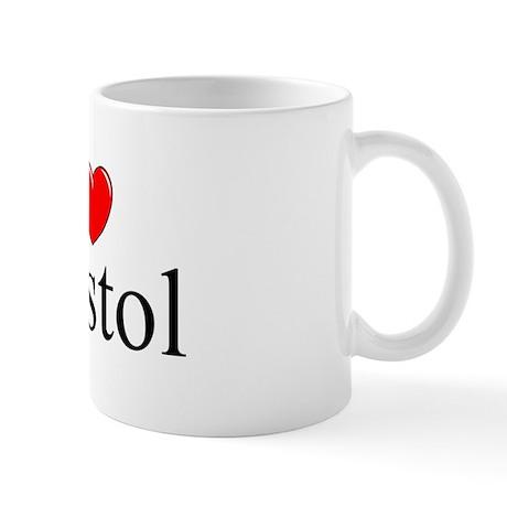 """""""I Love Bristol"""" Mug"""