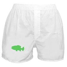 Green Sea Bass Boxer Shorts