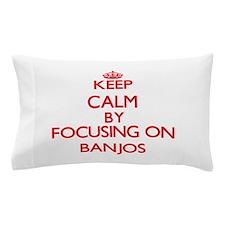 Banjos Pillow Case
