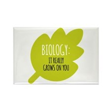 Biology Really Grows O Rectangle Magnet (100 pack)