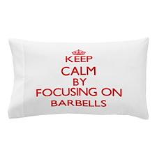 Barbells Pillow Case