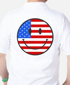 Fourth Of July Smile T-Shirt