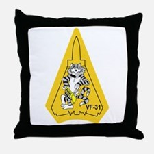 catTrivf31.png Throw Pillow