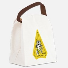 catTrivf31.png Canvas Lunch Bag