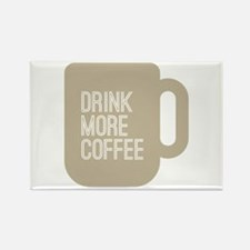 Drink More Coffee Rectangle Magnet