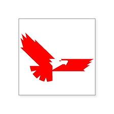 Red Eagle Sticker