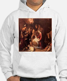 Adoration of the Shepherds 1668 Hoodie
