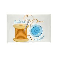 Cute As A Button Magnets