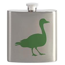 Green Duck Flask