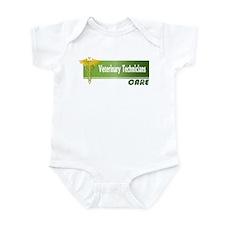 Veterinary Technicians Care Infant Bodysuit