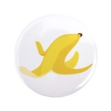 "Banana Peel 3.5"" Button"