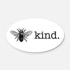 Be Kind Oval Car Magnet
