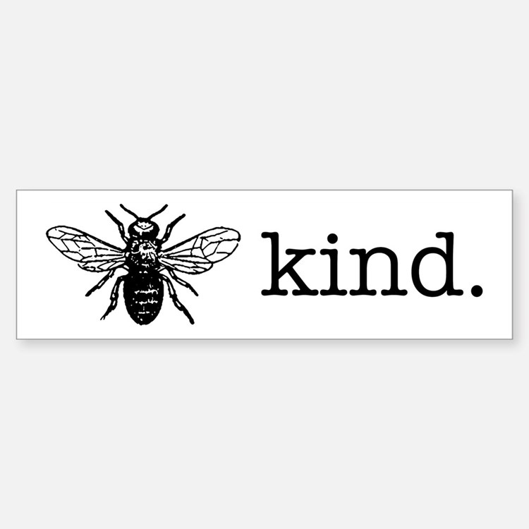 Be Kind Bumper Car Car Sticker