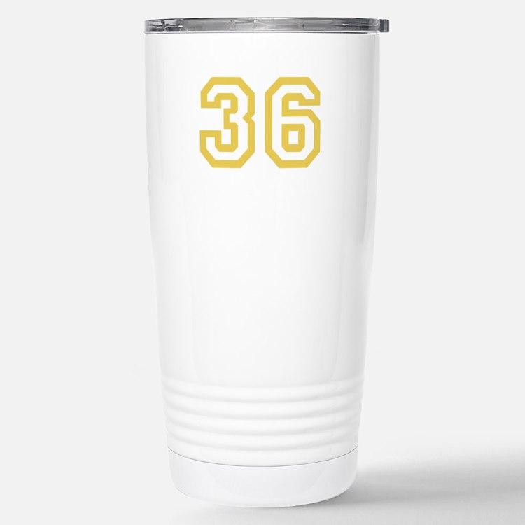 GOLD #36 Travel Mug