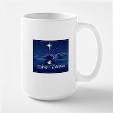 Merry Christmas Nativity Mugs