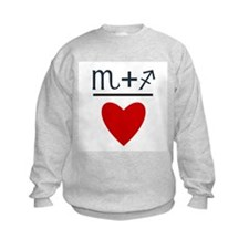 Scorpio + Sagittarius = Love Sweatshirt
