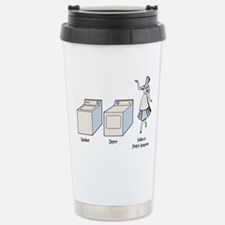 W-D-F&PA Stainless Steel Travel Mug