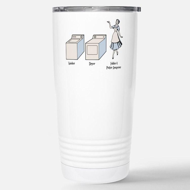 W-D-F&PA Stainless Steel Travel Mug