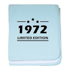 1972 LIMITED EDITION baby blanket