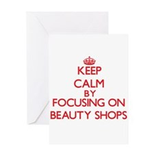 Beauty Shops Greeting Cards
