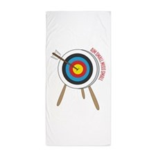 Aim Small Beach Towel