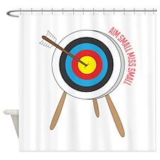 Aim Small Shower Curtain