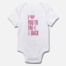 The Moon and Back Infant Bodysuit