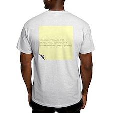 Revenge of the TV Fan Grey T-Shirt