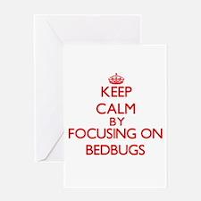 Bedbugs Greeting Cards