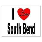 I Love South Bend Small Poster