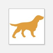 Brown Flat-Coated Retriever Sticker