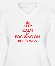 Bee Stings Plus Size T-Shirt
